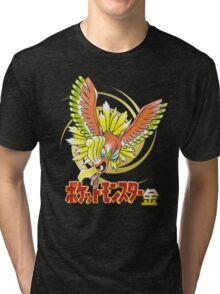 Pocket Monsters: Gold Tri-blend T-Shirt