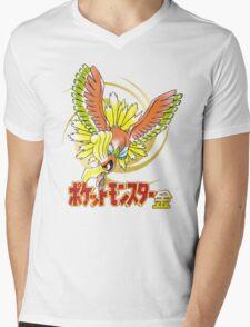 Pocket Monsters: Gold Mens V-Neck T-Shirt