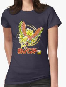 Pocket Monsters: Gold Womens Fitted T-Shirt