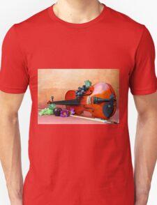 A still life of a Violin Unisex T-Shirt
