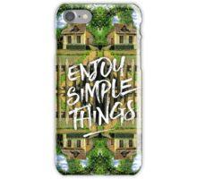 Enjoy Simple Things Marie-Antoinette Hamlet Versailles iPhone Case/Skin