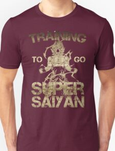 Super saiyan - training to go y T-Shirt