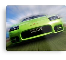 HILKU - The HULK Car !! Metal Print
