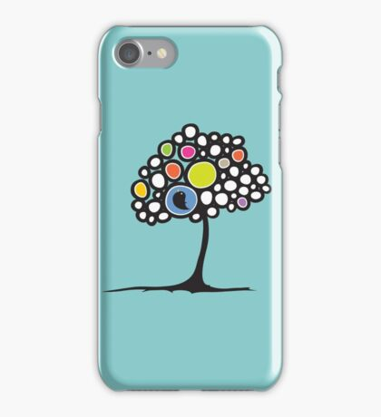 Bird on a tree iPhone Case/Skin