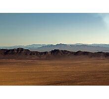 East of Mojave Preserve Photographic Print