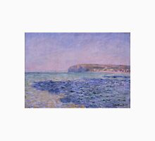 Claude Monet - Shadows on the Sea. The Cliffs at Pourville (1882) T-Shirt