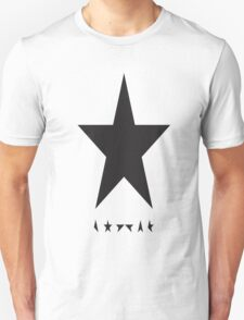 new David Bowie Memorial Blackstar T-Shirt
