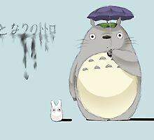 Studio Ghibli My Neighbor Totoro by cherrycat45
