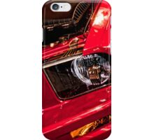 Classic Red Mustang iPhone Case/Skin