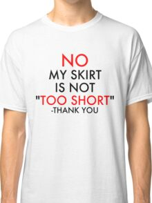 Social Messages - No (1) Classic T-Shirt