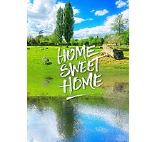 Home Sweet Home Pastoral Versailles Chateau Country Landscape Photographic Print