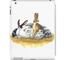 Rabbits iPad Case/Skin