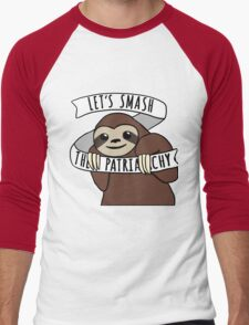 "Feminist Sloth ""Smash the Patriarchy"" T-Shirt"