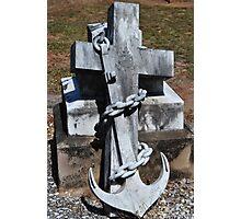 Grave Stone 1 Photographic Print