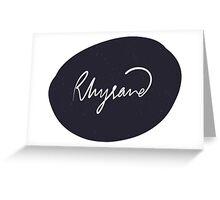 Rhysand - Night Design Greeting Card