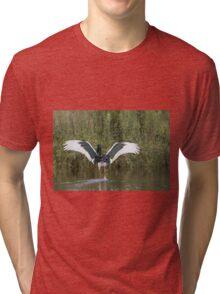 A Sunset Flap Tri-blend T-Shirt