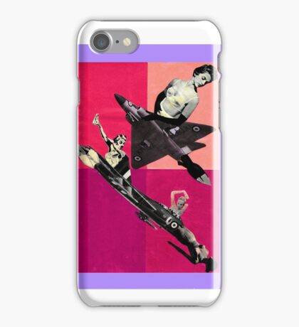 Trouble at the Airshow iPhone Case/Skin