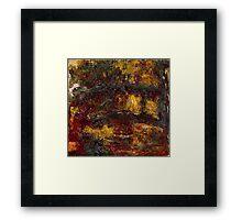 Claude Monet - The Japanese Footbridge  Giverny ,Impressionism Framed Print