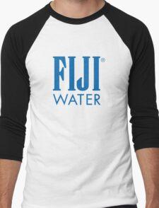 FIJI WATER   Logo Men's Baseball ¾ T-Shirt