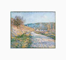 Claude Monet - The Road to Vétheuil (1879) T-Shirt