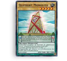 Qliphort Monolith Canvas Print