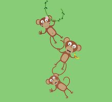 monkey chain by ilovecotton
