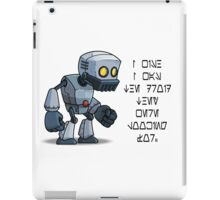 Droid Star Wars iPad Case/Skin
