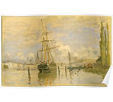 Claude Monet - The Seine at Rouen ,Impressionism Poster