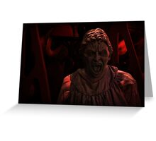 Don't BLINK ! Greeting Card