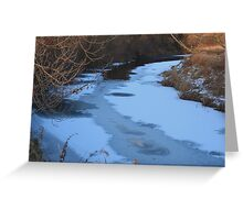 FROZEN Greeting Card