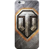 World of Tanks (WoT) Steel series logo only (with glow) iPhone Case/Skin