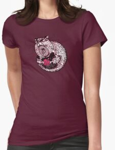 Hamster Lovin' Womens Fitted T-Shirt