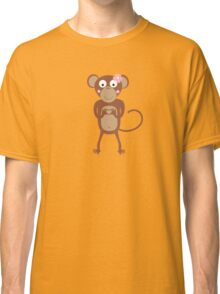 amorous female monkey  Classic T-Shirt