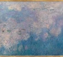 Claude Monet - The Water Lilies - The Clouds (1915 - 1926) by famousartworks