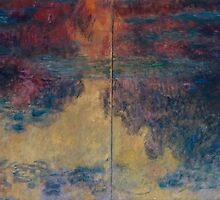 Claude Monet - The Water Lily Pond by famousartworks