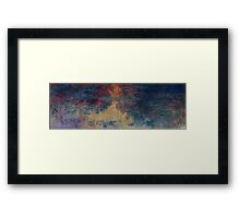Claude Monet - The Water Lily Pond , Impressionism Framed Print