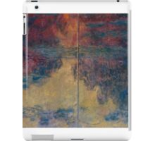 Claude Monet - The Water Lily Pond , Impressionism iPad Case/Skin