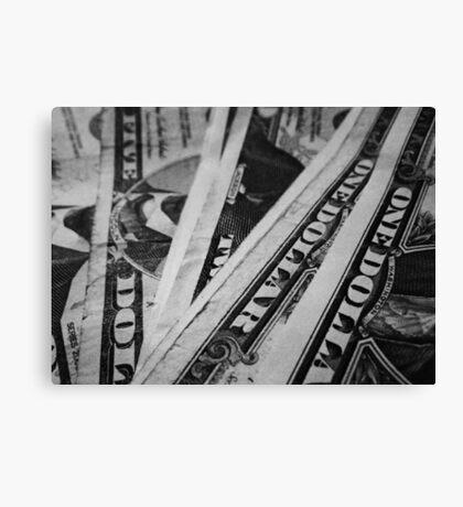Dollars... Canvas Print