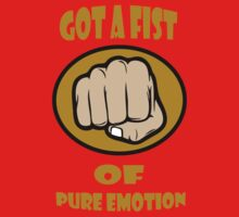 Fist of pure emotion  Kids Clothes