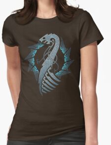 BLACK MOON. NAGLFAR. Womens Fitted T-Shirt