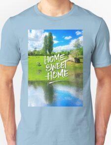 Home Sweet Home Pastoral Versailles Chateau Country Landscape T-Shirt