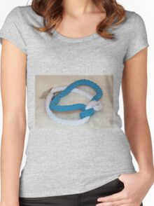 Supporting People with Cancer Bracelet... Women's Fitted Scoop T-Shirt
