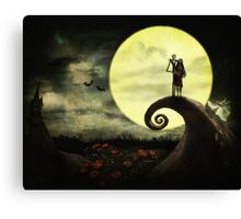 Nightmare before Valentine2 Canvas Print