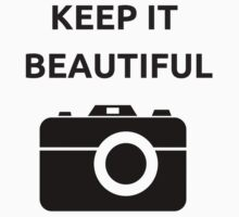 KEEP IT BEAUTIFUL Kids Tee