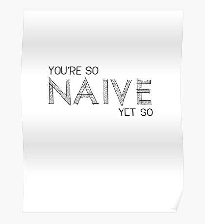 Naive - The Kooks Poster