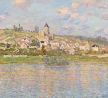 Claude Monet - Vétheuil (1879) by famousartworks