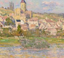 Claude Monet - Vétheuil (1879) Sticker