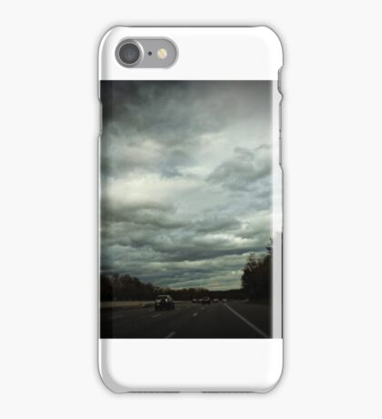 Following Hurricane Sandy iPhone Case/Skin