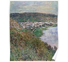 Claude Monet - View of Vetheuil (1880) Poster