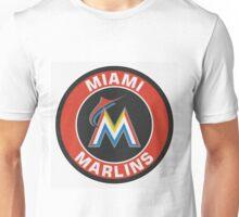 Miami Marlins Logo NL Unisex T-Shirt
